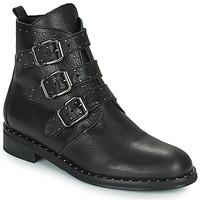 Schuhe Damen Boots Minelli FRANILLA Schwarz