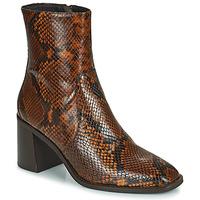 Schuhe Damen Low Boots Minelli MARIELLA Braun