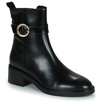 Schuhe Damen Low Boots Minelli KAMELIA Schwarz
