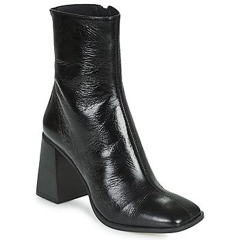 Schuhe Damen Low Boots Minelli LOULITA Schwarz