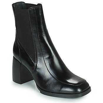 Schuhe Damen Low Boots Minelli NEOPARA Schwarz