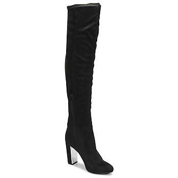 Schuhe Damen Klassische Stiefel Minelli  Schwarz