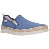 Schuhe Herren Leinen-Pantoletten mit gefloch Potomac 155 Hombre Jeans bleu
