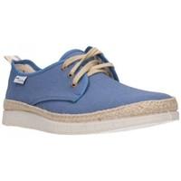 Schuhe Herren Leinen-Pantoletten mit gefloch Potomac 156 Hombre Jeans bleu