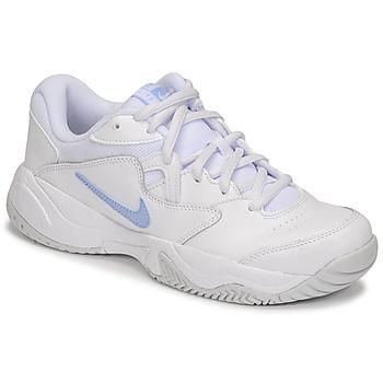 Schuhe Damen Sneaker Low Nike WMNS NIKE COURT LITE 2 Weiss / Silbern