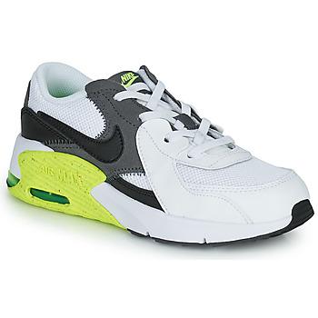 Schuhe Kinder Sneaker Low Nike NIKE AIR MAX EXCEE (PS) Weiss / Schwarz