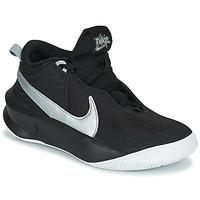 Schuhe Kinder Sneaker High Nike TEAM HUSTLE D 10 (GS) Schwarz / Silbern