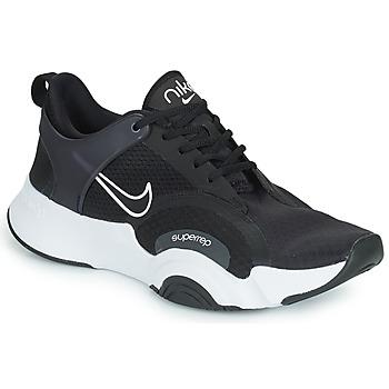 Schuhe Herren Multisportschuhe Nike M NIKE SUPERREP GO 2 Schwarz / Weiss