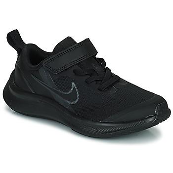Schuhe Kinder Laufschuhe Nike NIKE STAR RUNNER 3 (PSV) Schwarz