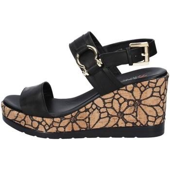 Schuhe Damen Sandalen / Sandaletten Repo 51280 SCHWARZ