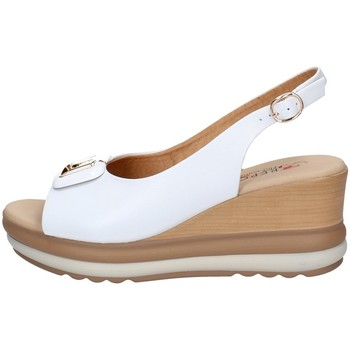 Schuhe Damen Sandalen / Sandaletten Repo 20428 WEISS