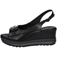 Schuhe Damen Sandalen / Sandaletten Repo 20428 SCHWARZ