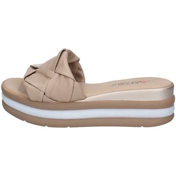 Schuhe Damen Pantoffel Repo 12101 BEIGE