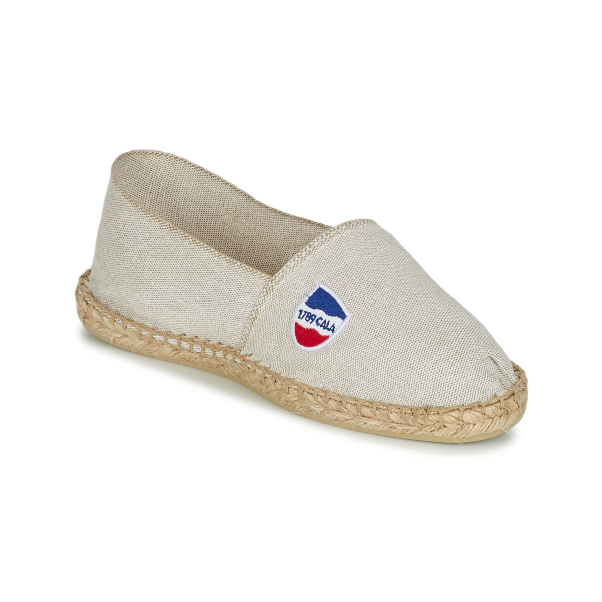 1789 Cala UNIE LIN Beige - Kostenloser Versand bei Spartoode ! - Schuhe Leinen-Pantoletten mit gefloch Herren 27,99 €