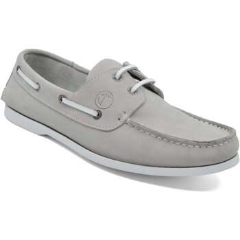 Schuhe Herren Bootsschuhe Seajure Bootsschuhe Unawatuna Hellgrau