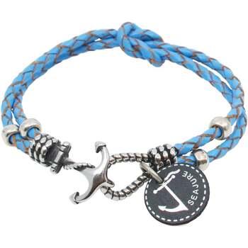 Uhren & Schmuck Herren Armbänder Seajure Armband Palawan Blau