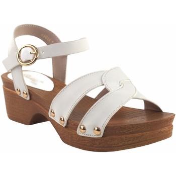 Schuhe Mädchen Sandalen / Sandaletten Bubble Bobble Mädchensandale  a3014 weiß Weiss
