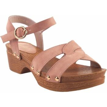 Schuhe Mädchen Sandalen / Sandaletten Bubble Bobble Mädchensandale  a3014 pink Rose