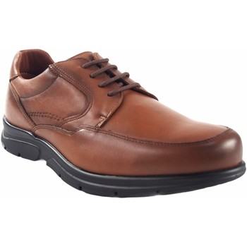 Schuhe Herren Derby-Schuhe Baerchi 1250 Leder Braun