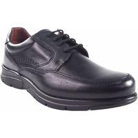 Schuhe Herren Derby-Schuhe Baerchi 1250 schwarz Schwarz
