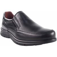 Schuhe Herren Slipper Baerchi 1251 schwarz Schwarz