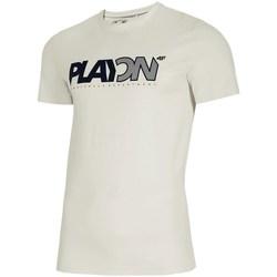 Kleidung Herren T-Shirts 4F TSM013 Weiß