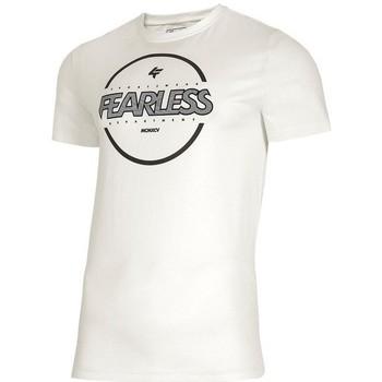 Kleidung Herren T-Shirts 4F TSM015 Weiß