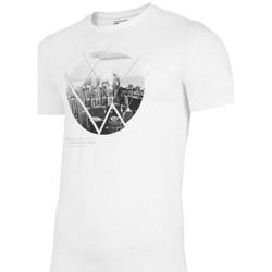 Kleidung Herren T-Shirts 4F TSM023 Weiß