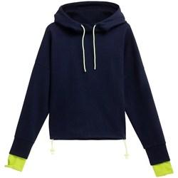 Kleidung Kinder Sweatshirts 4F BLD025 Dunkelblau