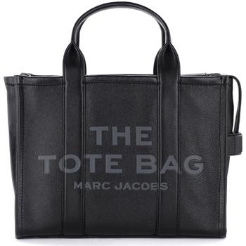 Taschen Damen Handtasche Marc Jacobs The  Tasche The Leather Small Traveler Tote Bag Schwarz