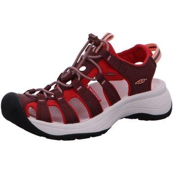 Schuhe Damen Wanderschuhe Keen Sandaletten 1024722 rot
