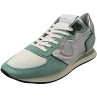Schuhe Damen Sneaker Low Philippe Model Schnuerschuhe TZLD W066 weiß