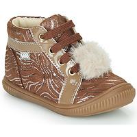 Schuhe Mädchen Sneaker High GBB ISAURE Beige