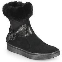 Schuhe Mädchen Klassische Stiefel GBB EVELINA Schwarz