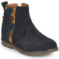 Schuhe Mädchen Boots GBB JEANNETTE Blau