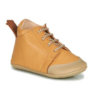Schuhe Kinder Hausschuhe Easy Peasy IGO B Braun