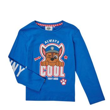 Kleidung Jungen Langarmshirts TEAM HEROES  TEE PAW PATROL Blau