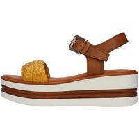 Schuhe Damen Sandalen / Sandaletten Pregunta PQ6605000 GELB