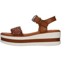 Schuhe Damen Sandalen / Sandaletten Pregunta PQ6605000 LEDER