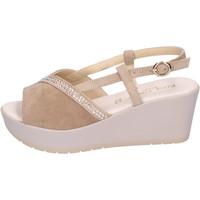 Schuhe Damen Sandalen / Sandaletten Elisa Conte BH108 Beige