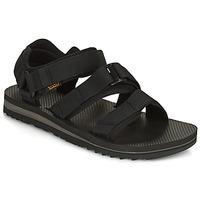 Schuhe Herren Sandalen / Sandaletten Teva M Cross Strap Trail BLACK Schwarz