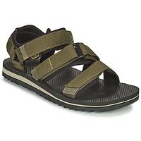 Schuhe Herren Sandalen / Sandaletten Teva M Cross Strap Trail DARK OLIVE Kaki