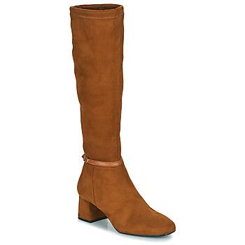 Schuhe Damen Klassische Stiefel JB Martin ANNA Braun