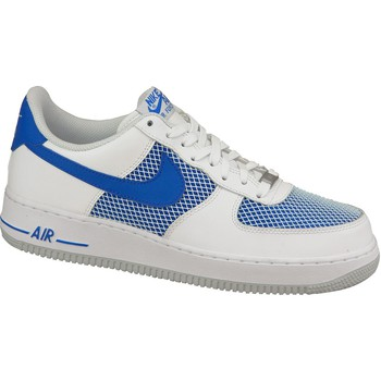 Schuhe Herren Sneaker Low Nike Air Force 1 488298-150 White