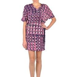 Kleidung Damen Kurze Kleider Stella Forest YRO059 Marine / Rose