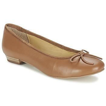 Schuhe Damen Ballerinas Balsamik ALVES largeur normale Camel