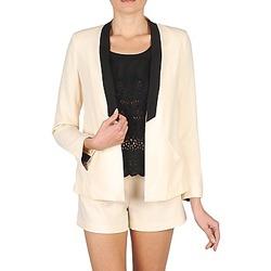 Kleidung Damen Jacken / Blazers Stella Forest YVE005 Naturfarben