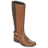 Schuhe Damen Klassische Stiefel Balsamik MIRA Karamell