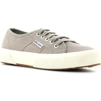 Schuhe Damen Sneaker Low Superga 2750 Sneakers Frauen Mush room Mush room