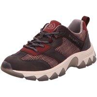 Schuhe Damen Sneaker Low Bugatti 432952055069118 rot